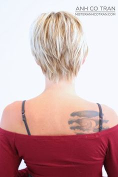 pixie haircut from the back - Google zoeken