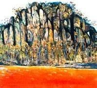 Hanging Rock, Fred Williams