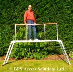 Our Multi Purpose Ladder is by far the most versatile ladder in the world, and now we are offering a handrail to enhance safety when used in the scaffold position. Whilst using the ladder in this configuration our safety handrail offers you greater peace of mind and security and in our opinion every Multi Purpose Ladder should have one. Our Unbeatable Price:   £37.99