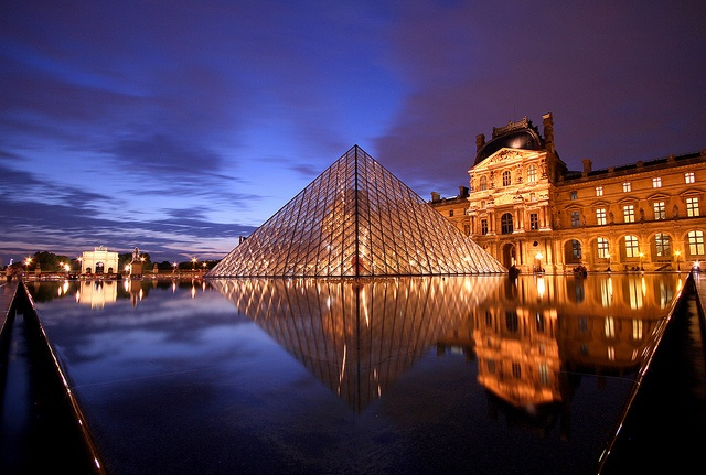 Louvre Museum by Arun Sundar, via Flickr