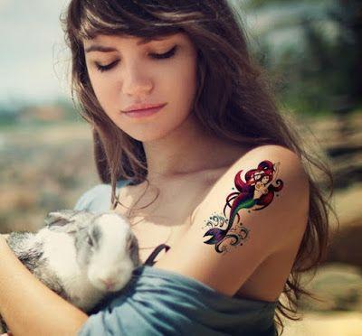 Tatuajes de sirenas ,su leyenda y tradición