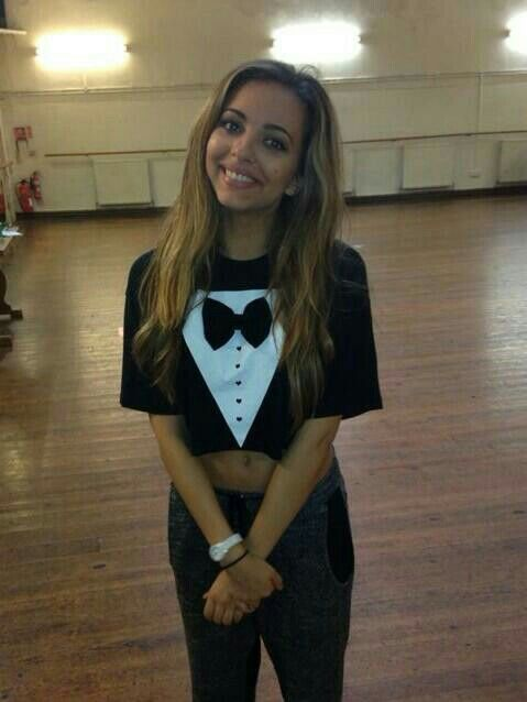 Jade at Salute Tour Rehearsals aww she's such a cutie :) x
