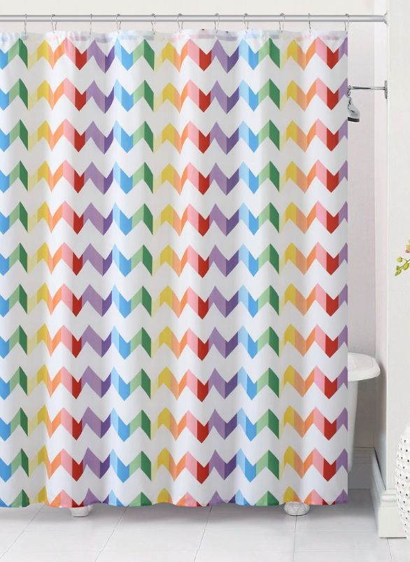 Best 25 Colorful Shower Curtain Ideas On Pinterest