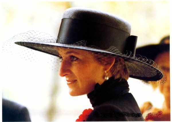 Princess Diana, November 1991