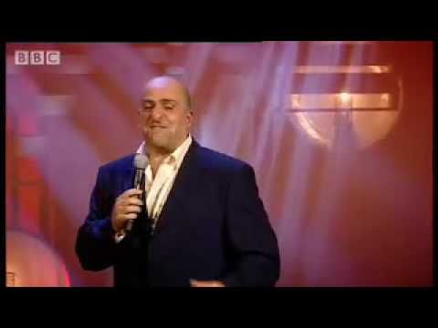 Airport paranoia - Omid Djalili comedy stand up - BBC