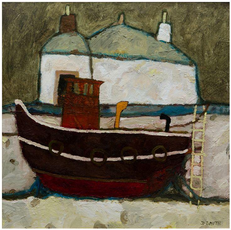 Tugboat And Bothy Crinan