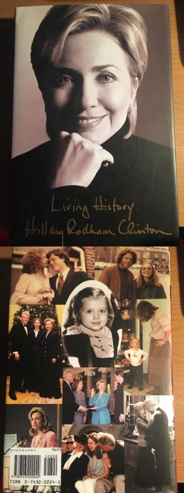 Hillary Clinton: Living History By Hillary Rodham Clinton (2003, Hardcover) -> BUY IT NOW ONLY: $10 on eBay!