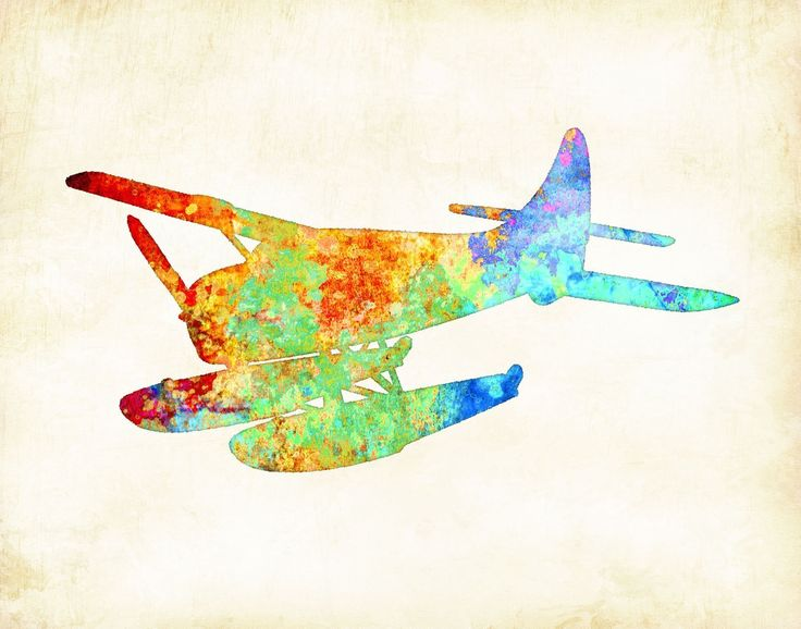 Watercolor Water Plane Art Print by Dan Morris. • Signed Art Print from the original illustration of Artist Dan Morris. Choose your print size: 6x8, 8x10, 11x14, 12x16 • Premium Heavyweight Fine Art matte paper, acid free, and printed with Archival inks. • Signed by the Artist. • Frame and Mats are not included. (Frames and Mats are pictured for display purposes only) • All Dan Morris Artwork is officially registered with the United States Copyright office. © Dan Morris. Copyrights are…