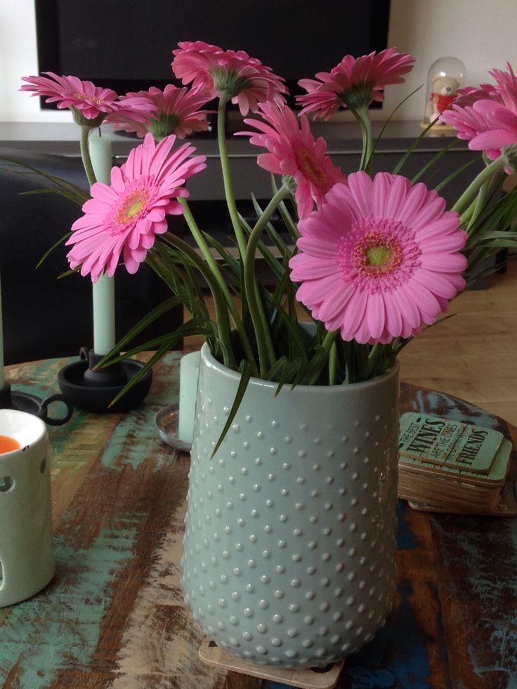 Bloemen  Woonkamer  Roze/mint