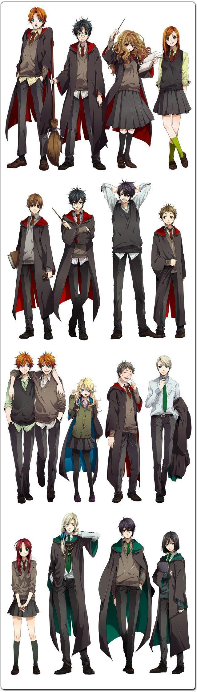 Harry Potter Anime Manga