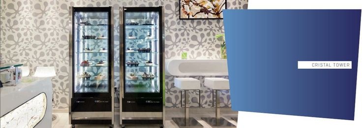 cristal tower dy isa www.isaitaly.com -  Professional Refrigeration > Upright display cabinets > Cristal Tower