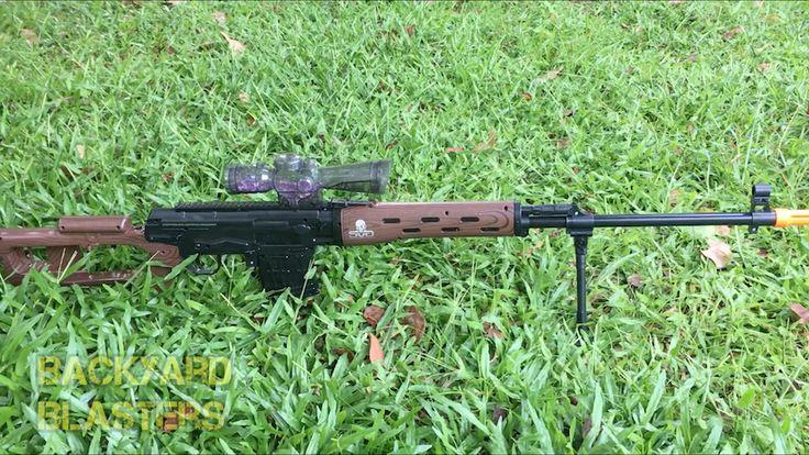Elite Sniper Status @coop772   #sniper #elite #svd #russian #style#Nerf #justnerfit #toyguns #nerflife #hobby #collector #megacenturion #nerfsniper #natural environment #headshot