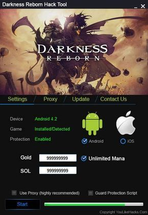 darkness reborn cheat engine