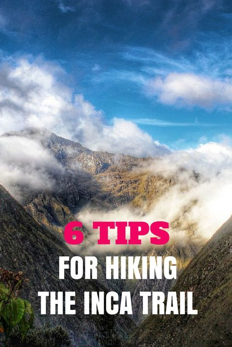 Tips for hiking the Inca trail http://www.southamericaperutours.com/peru/8-days-peru-the-heart-of-the-incas.html