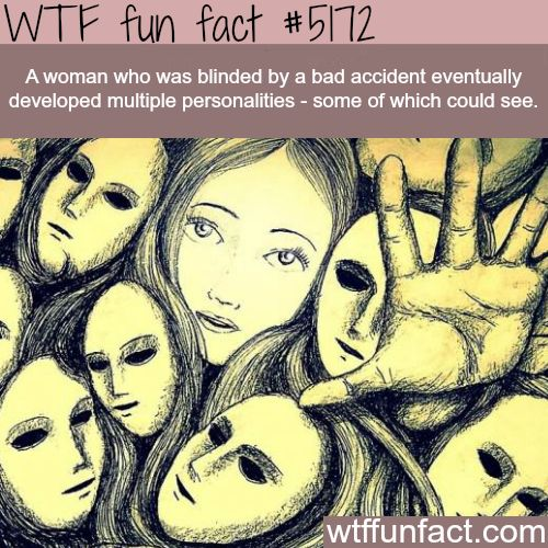 ๏̯͡๏﴿ Ƒմɳ ֆ Ïɳ৳ҽɽҽʂ৳Ꭵɳɠ Ƒąç৳ʂ ๏̯͡๏﴿ ᏇɦᎧ ҠɳҽᏇ??? ๏̯͡๏﴿ ~ Blind woman who could see depending on personality - WTF fun facts