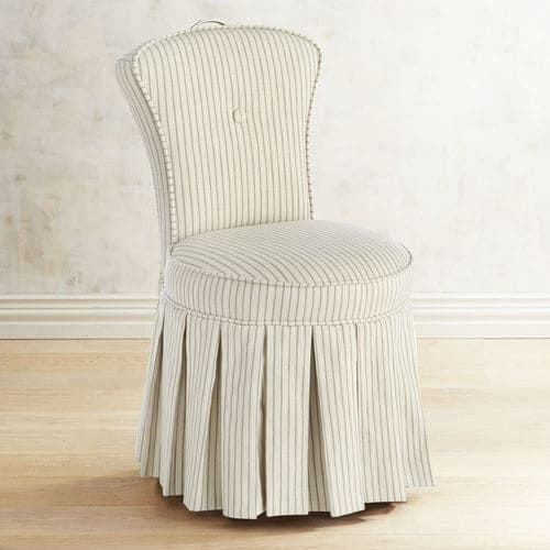 Incredible Reese Chester Vanity Chair In 2019 Eclectic Dining Chairs Caraccident5 Cool Chair Designs And Ideas Caraccident5Info