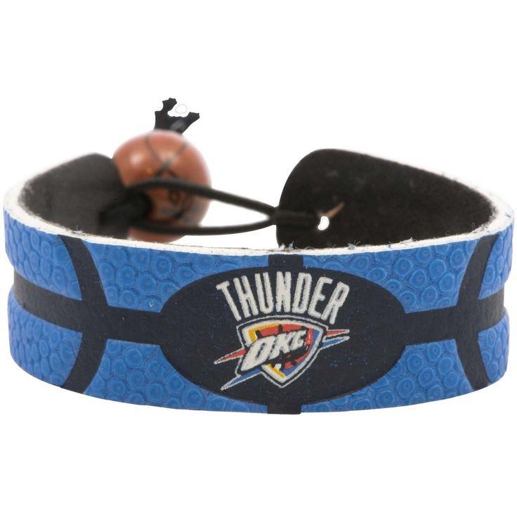 Oklahoma City Thunder Team Color Basketball Bracelet