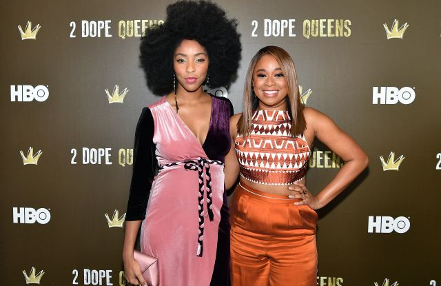 HBO's 2 Dope Queens NYC Slumber Party Premiere