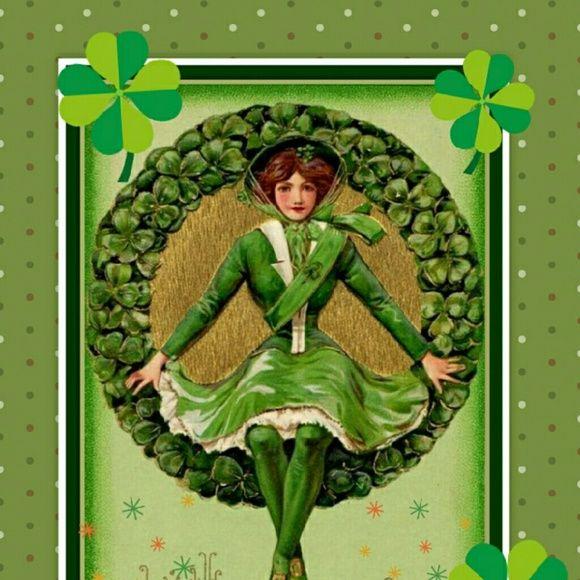открытки ирландские французский