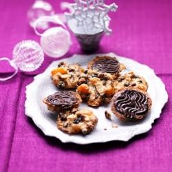 Kirstie's Christmas Florentines with condensed milk