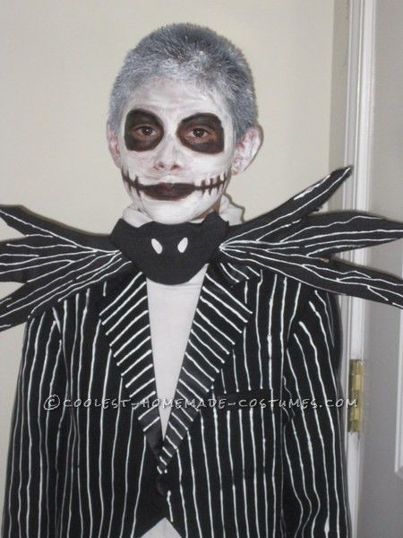 Homemade Jack Skellington Halloween Costume for a Boy ...This website is the Pinterest of birthday cakes