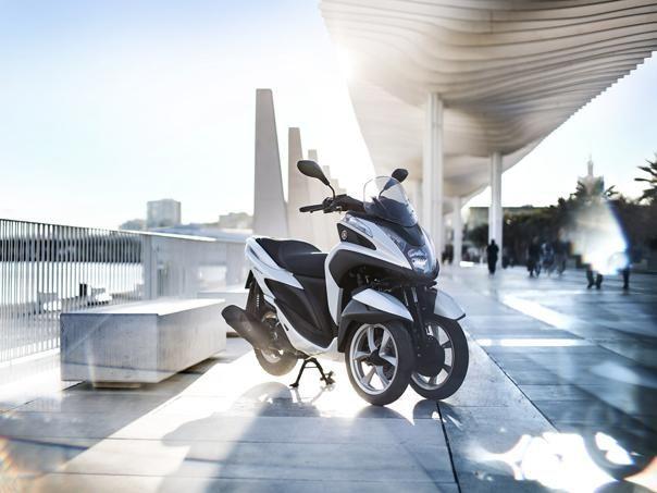 En fotos: Yamaha Tricity 125 cc la moto de tres ruedas