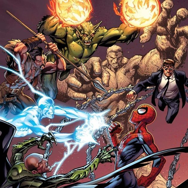17 Best Images About Sinisters Six On Pinterest