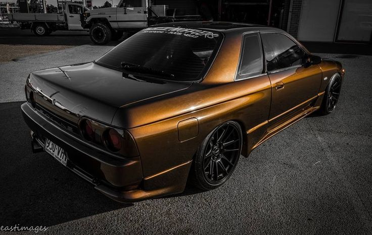 #Nissan #Skyline_R32 #JDM #Modified #Slammed #Stance