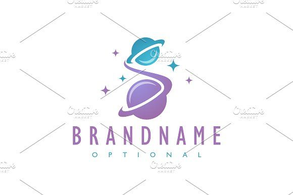 For sale. Only $29 - simple, science, travel, world, letter S, sky, space, speed, purple, star, rocket, planet, moon, memorable, ring, swoosh, alien, universe, astronomy, constellation, trace, interstellar, stellar, astral, globe, warp, logo, design, template,