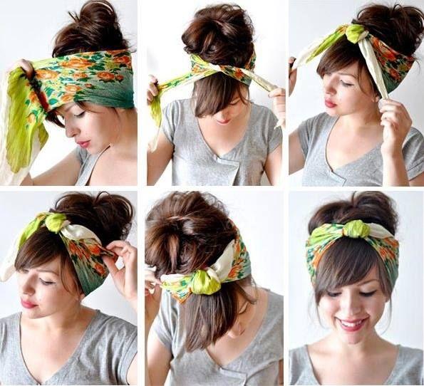 Iata cum va puteti prinde parul intr-un mod cat mai fashion! Accesoriile precum bandanele, esarfele sau panglicile, sunt tot mai folosite in crearea unui look glam!