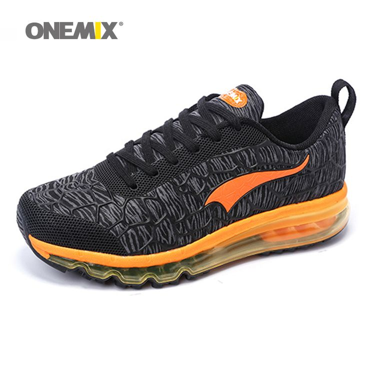 Onemix Hot sale Men air running shoes for women brand breathable walking sneakers athletic outdoor sports Training shoes 35-46