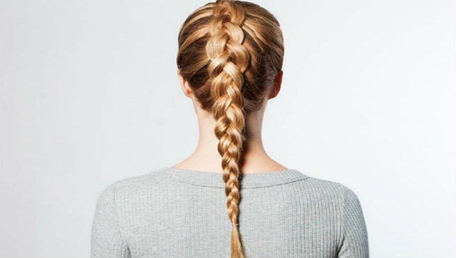 How To  Dutch Braid Your Hair To Look Fabulous? - We are in love with braid!!