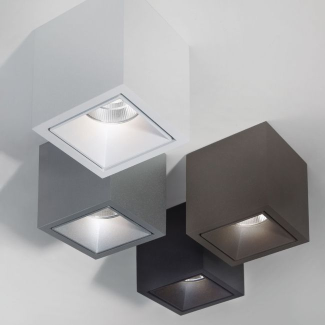 BOXY L+ LED, Interior and Exterior Ceiling Surface mounted spot by Deltalight