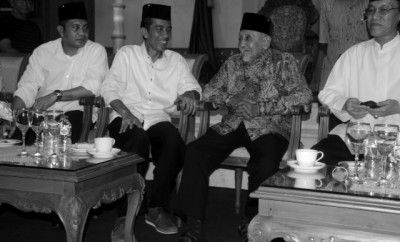 Kunjungi Sultan Kutai, Jokowi Bicara Nasib Keraton