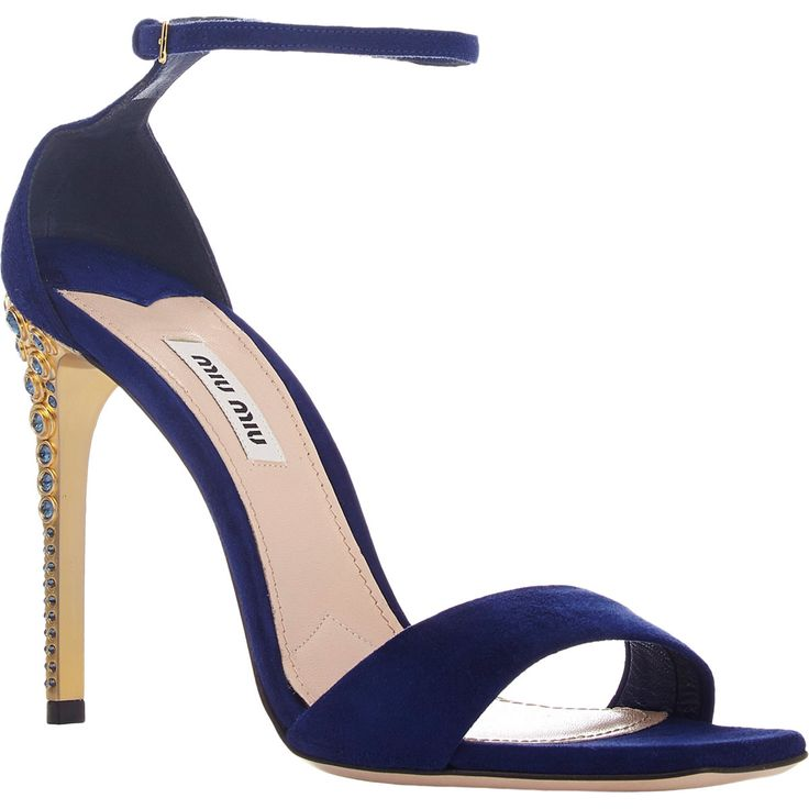 Ankle Strap Sandals Heels