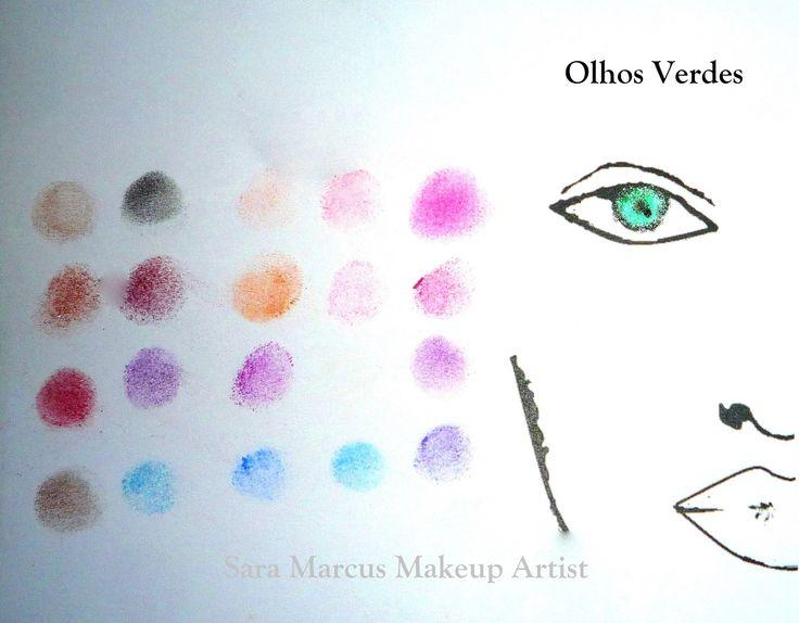 Teoria das Cores by Sara Marcus Olhos Verdes
