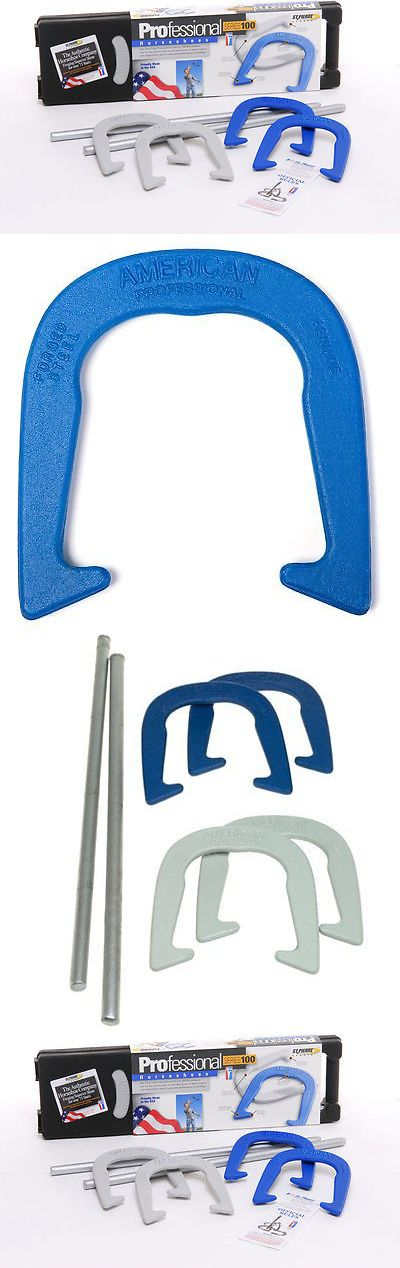 Horseshoes 79790: St. Pierre American Professional Horseshoe Set Forged-Steel Ringer Pitch Sports -> BUY IT NOW ONLY: $63.99 on eBay!