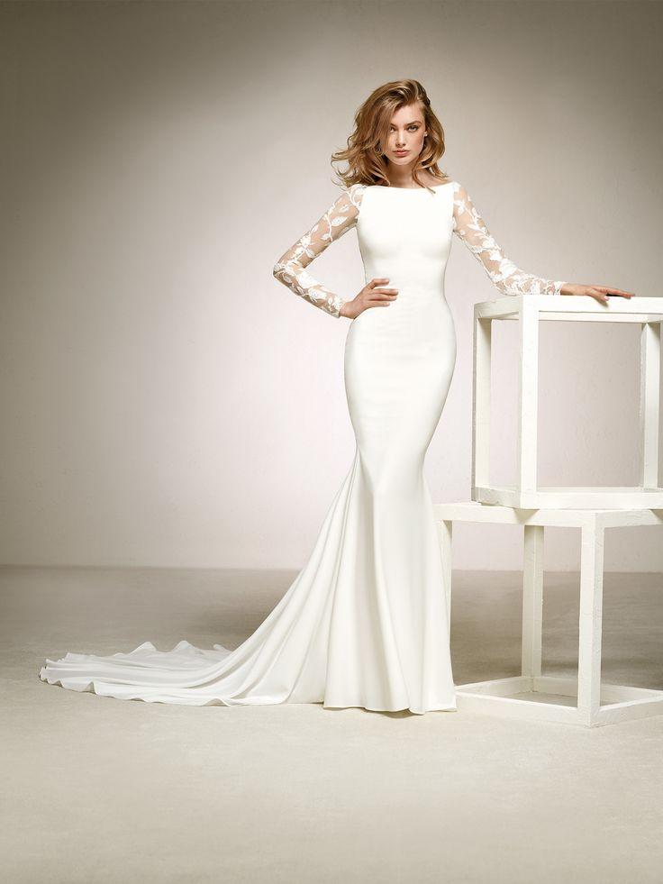 robe pour mariée manches avec transparences
