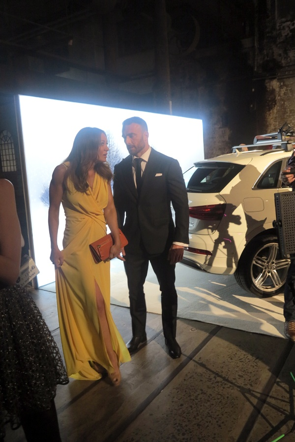 "Australian TV trainers Michelle Bridges and Steve ""The Commando"" Willis."