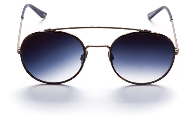 Navy PARKER Sunglasses - SUNDAY SOMEWHERE