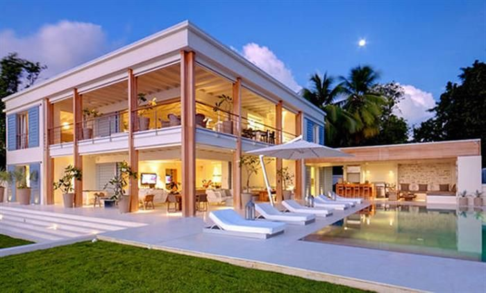 Unbelievable beachfront home!  Beach front dream home for sale in Cabarete If you want to own a Beach Palace here on the beautiful north coast of Dominican Republic this is your chance.   #uniqueopportunity #beautifulfbeachfront #luxuryhome #cabarete #paradise