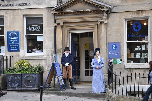 I've been here!!!! The Jane Austen Centre in Bath explores the author's life and work.