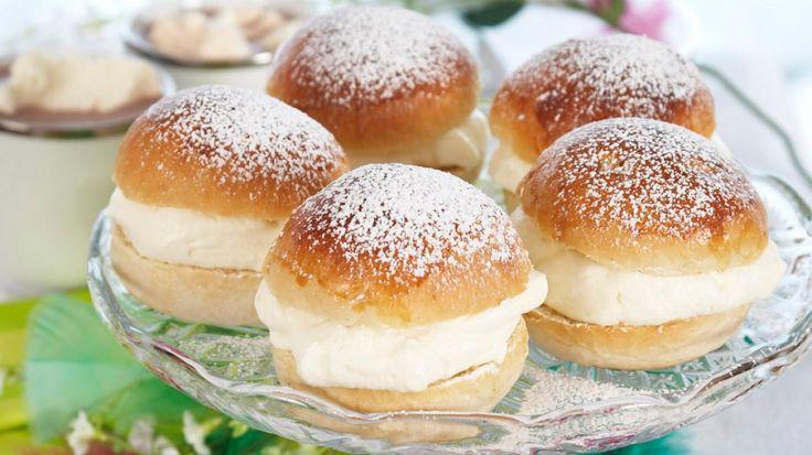 Oppskrift på glutenfrie fastelavensboller, foto: Synøve Dreyer kilde: