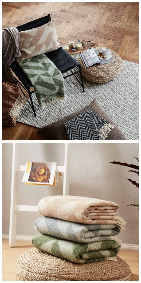 Skandinavisches Design Und Warme Merinowolle