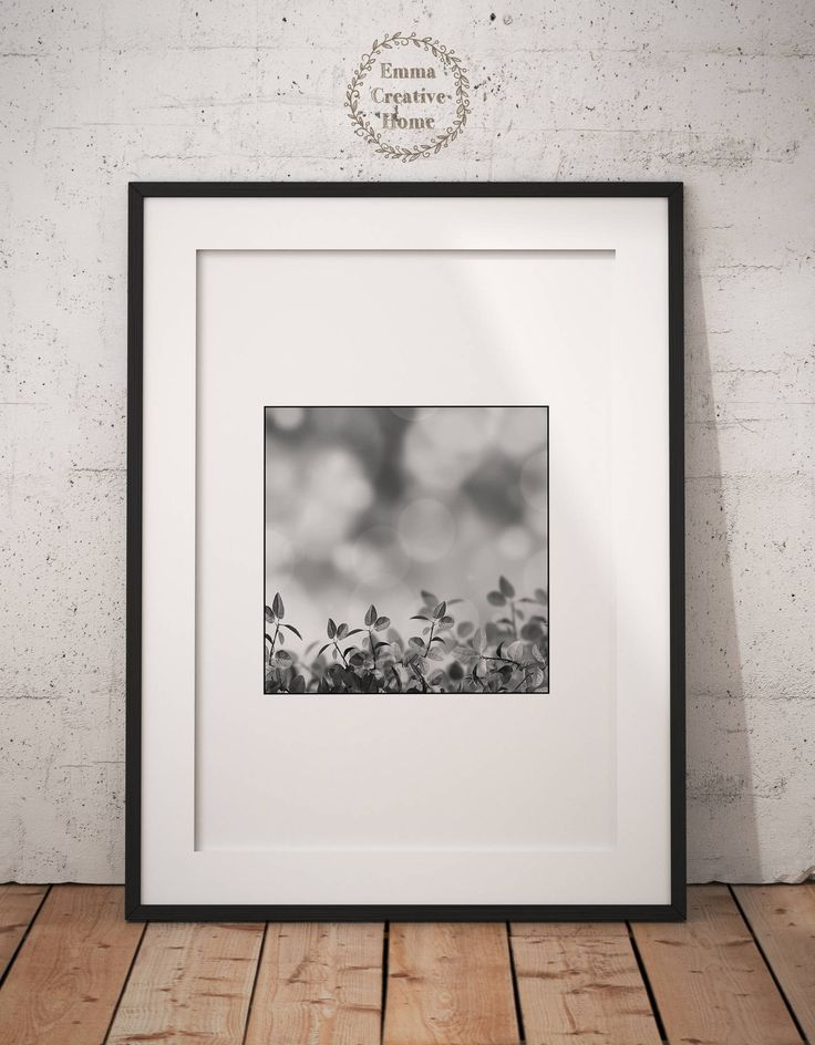 Plants Print, Wall art Print, Digital Print, Scandinavian Art, Digital Download, Nature Art, JPG, Black and White ,Plant Dekor by EmmaCreativeHome on Etsy
