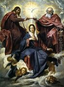 The Coronation of the Virgin 1645  by Diego Rodriguez de Silva y Velazquez
