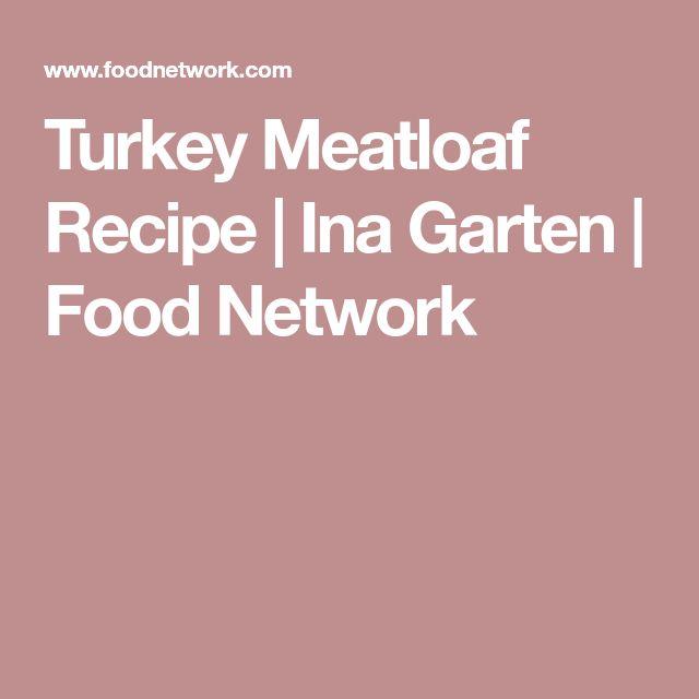 Turkey Meatloaf Recipe   Ina Garten   Food Network