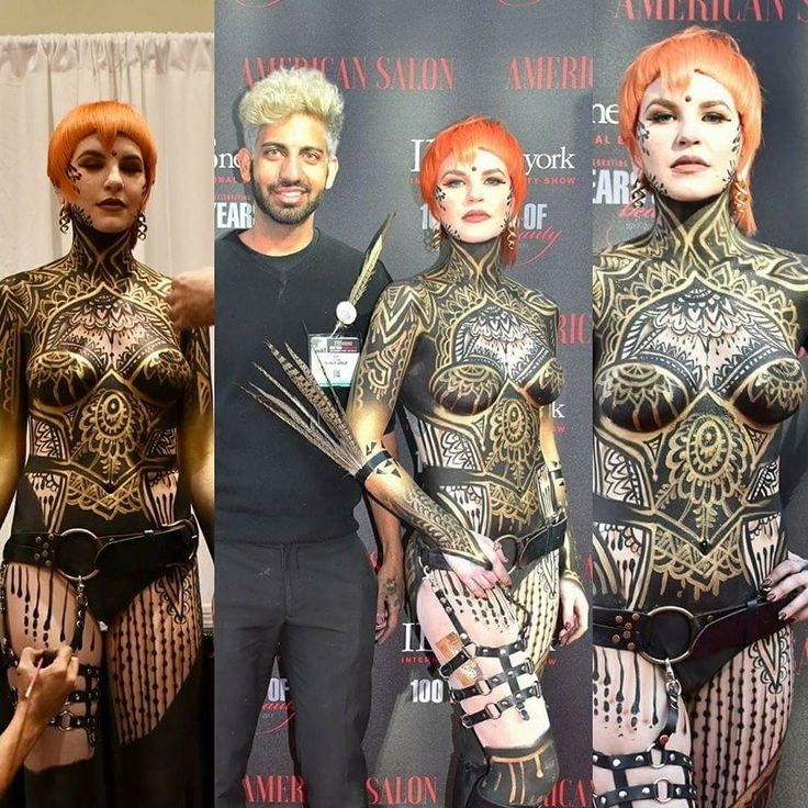 "Amazing body paintng from @aviram with  TK HAIR GROUP ""Future Forward"" Collection at International Beauty Shows Model -Dakota Sue Willy Hair -Tanju Kurt  From our friends @ShowOffsba Body Art / ProAiir Hybrid Makeup and @mehronmakeup Skin Wars Global Beauty Masters #IBSNY #BodyPainting #Bodyart #Airbrush  #paint #color  #trends #hair #fashion #ibsny #haircut #style #beauty  #hairtrends #love #americansalon #fashion #creative #internationalbeautyshow #fashionista #hairbrained_official…"