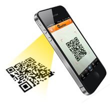 QuickMark is a mobile barcode reader app that allows you to automatically scan and generate multiple barcode formats from your iPhone.