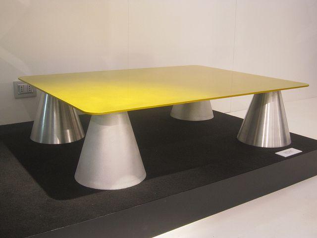 #arbat coffee table, design by Marco Piva for #altreforme, #district collection at Salone del Mobile 2011 #interior #home #decor #homedecor #furniture #aluminium